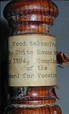 Gavel from White House Timbers