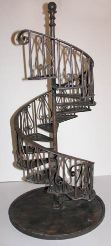 High Quality Staircase Staircase. Spiral Staircase With Lyre Balusters Architectu0027s  Miniature Model