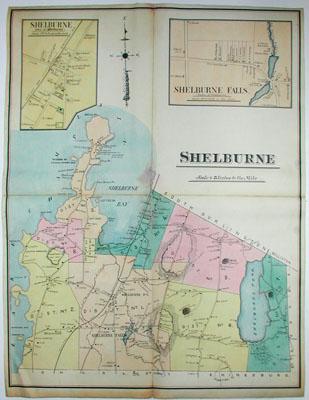 George Glazer Gallery  Antique Maps  Shelburne