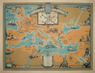 Pictorial map of the Classical World