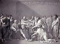 Hippocrates Refusing Gift from Alexander