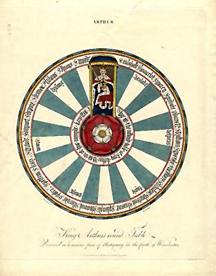 Glazer Gallery Antique Prints Arthur King Arthur 39 S Round Table