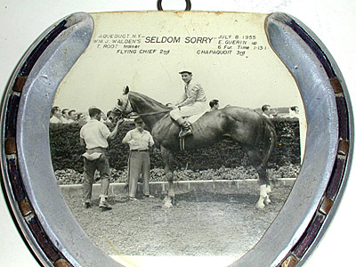 George Glazer Gallery - Antique Sporting Prints - Horseshoe Trophy ...