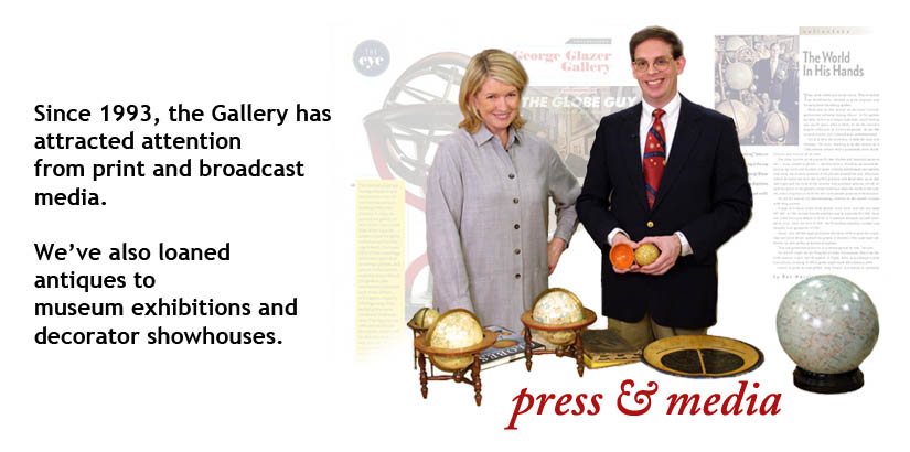 Press and Media Coverage of the George Glazer Gallery