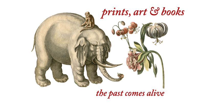 The past comes alive in prints, art and books