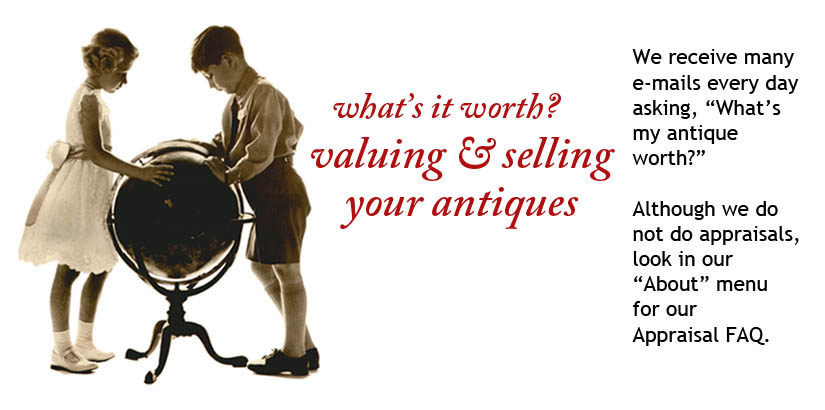 What's it worth? Valuing and selling your antiques?