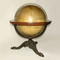 Franklin/Nims table globe