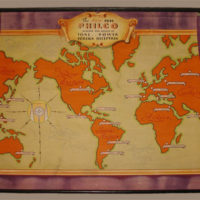 Philco Radio Map