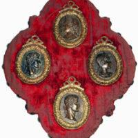 Medallions, Roman Bronze Portraits