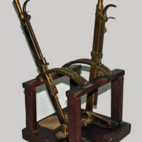Model, Railway Mechanical Lever Frame