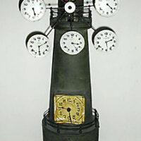 Clock, World Time, Lighthouse Form