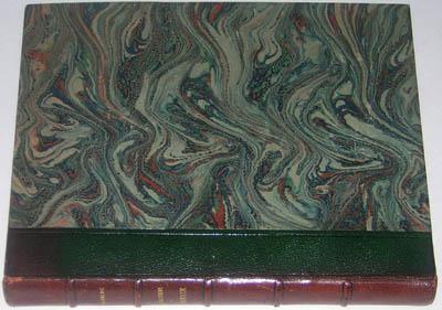 Book, Leather Binding, Le Baiser au Lepreux