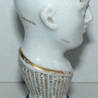 Phrenology Head, Miniature, Cane Handle