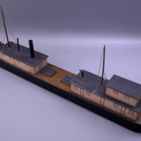 "Model Boat, Ohio River Steamer ""New Orleans"""