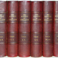 Books, Leather Binding, Queens of England
