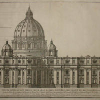 Exterior of the Great St. Peter's Basilica