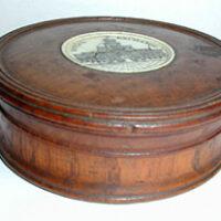 Box, Royal Exchange Wooden Relic