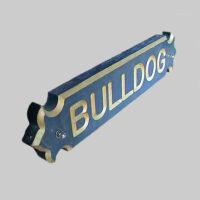 Bulldog Boat Sternboard