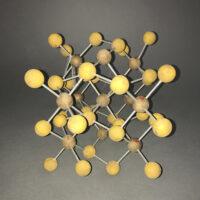 Iron Sulfide Molecular Model