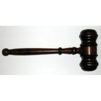 Large Hardwood Gavel