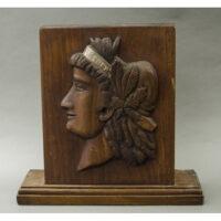 Lady Liberty wood plaque