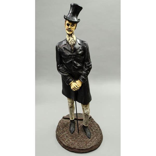 Gentleman Figurine, front