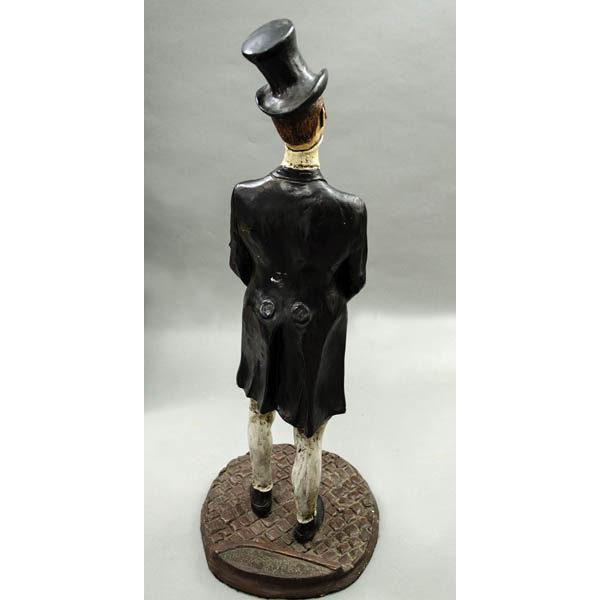 Gentleman Figurine, back