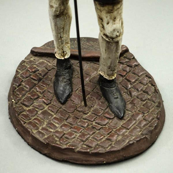 Gentleman Figurine, base