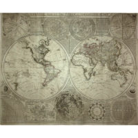 A General Map Of The World Or Terraqueous Globe