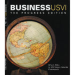 Cover of Business USVI magazine