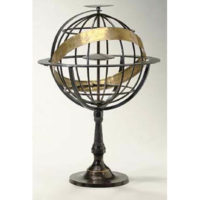 Iron Ptolemaic Armillary Sphere