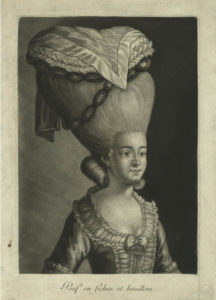 18th century hairstyle print