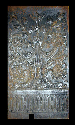 Cast Iron Fireplace Back Plate ...