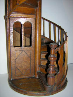 George Glazer Gallery Antiques Spiral Staircase Model