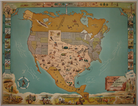 George Glazer Gallery Antique Maps Texas Brags Map - Maps of texas