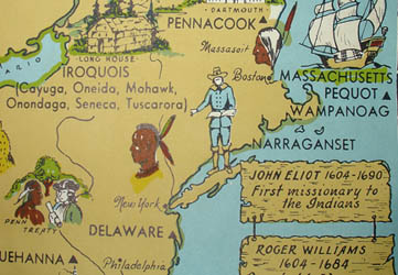 George Glazer Gallery Antique Maps Pictorial Map Of Native - Map of native american tribes in us
