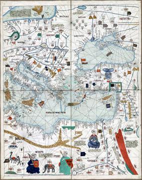 George Glazer Gallery - Antique World Maps - The Catalan ...