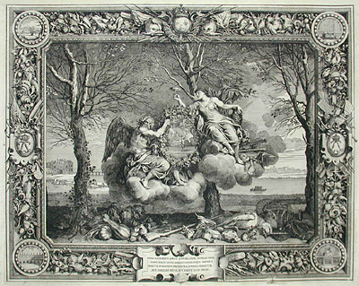George Glazer Gallery - Antique Prints - Charles Le Brun ...