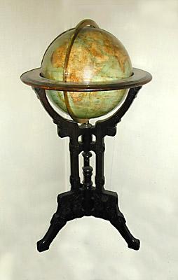 Large Size Schedler Terrestrial Floor Globe