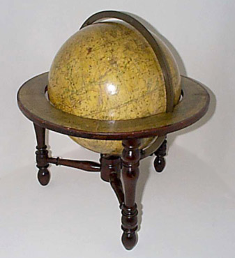 Dudley Adams Celestial Table Globe