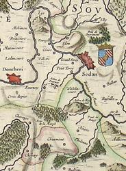 Les Souverainetez de Sedan et de Raucourt et la prevosté de Doncheri, detail