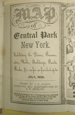 Map title page