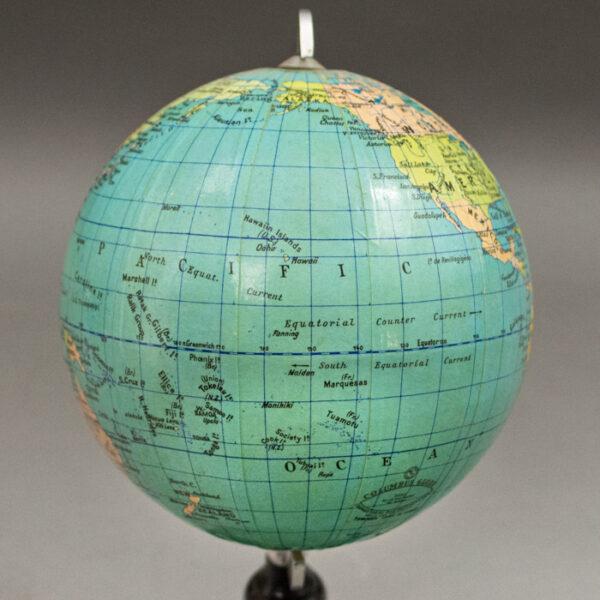Columbus Verlag Paul Oestergaard 4-Inch Terrestrial Globe, detail