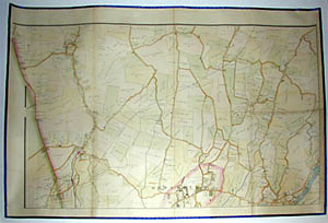 Road and Property Map showing the Towns of Stamford and Greenwich Conn. Together with Surrounding Territory, Map 2