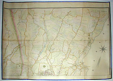 Road and Property Map showing the Towns of Stamford and Greenwich Conn. Together with Surrounding Territory, Map 4