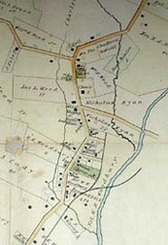 Road and Property Map showing the Towns of Stamford and Greenwich Conn. Together with Surrounding Territory, Map 4, detail