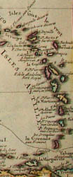 Map, Mexico and Florida, Tabula Geographica Mexicae et Floridae