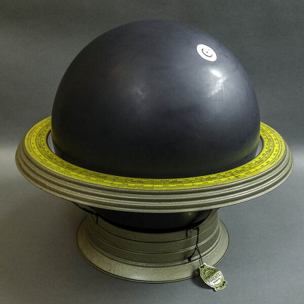 George F. Cram Co. 12-Inch Slate Globe Model No. 455-B