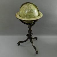 G.F. Cruchley 12-Inch Terrestrial Floor Globe