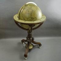 George F. Cruchley 15-Inch Terrestrial Floor Globe